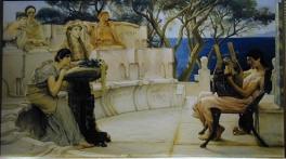 Self portrait Sappho Alcaeus